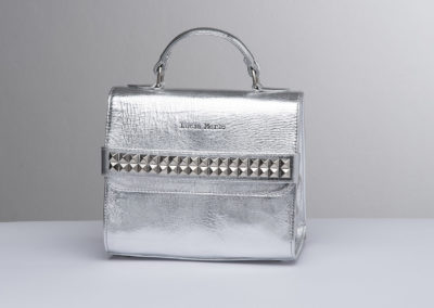 lucia merlo bags silver studs